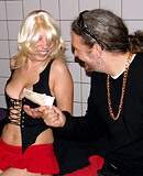 Sex tourist fucking a paid blonde prostitute in Amsterdam
