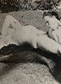 Very real vintage hardcore couple having very dirty sex
