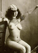 Horny vintage fantasy nude chicks posing for the camera