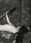 Naked anonymous girls hiding their face in the twenties