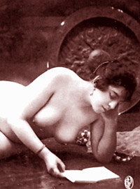 Very horny vintage naked french postcards in the twenties