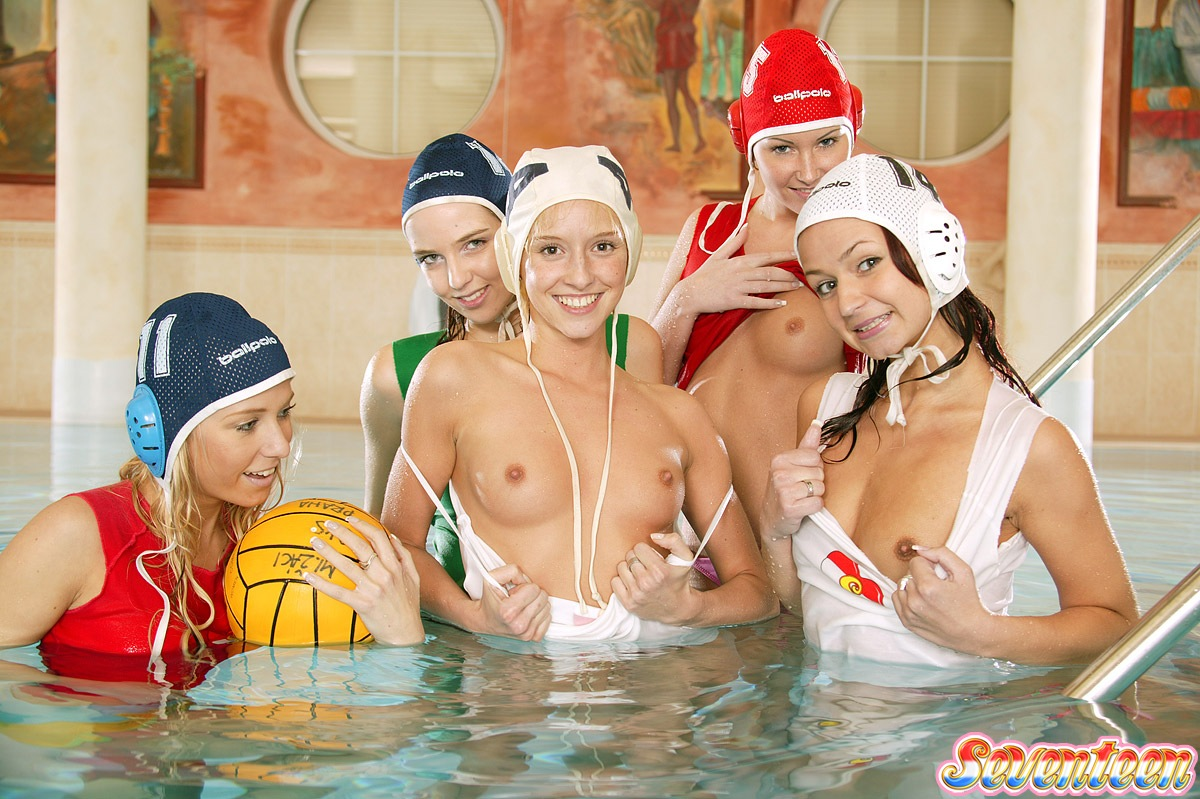 Water polo girls pussy