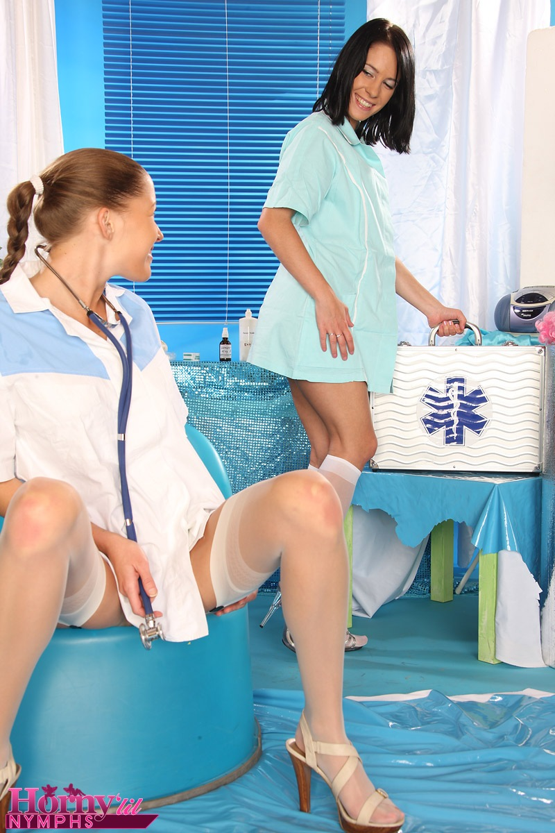 Can Teens playing doctor here against