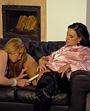 Two horny daring lesbians love playing with yellow piss