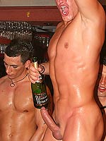 Hardcore gay fuck and suck groupsex party in a nightclub