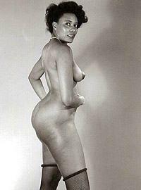 Pretty nude gorgeous vintage models posing in the sixties