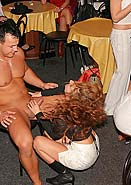Male strippers knobs get gobbled by slutty amateur hotties