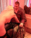 Horny fellow shagging a gorgeous hooker in her sex room