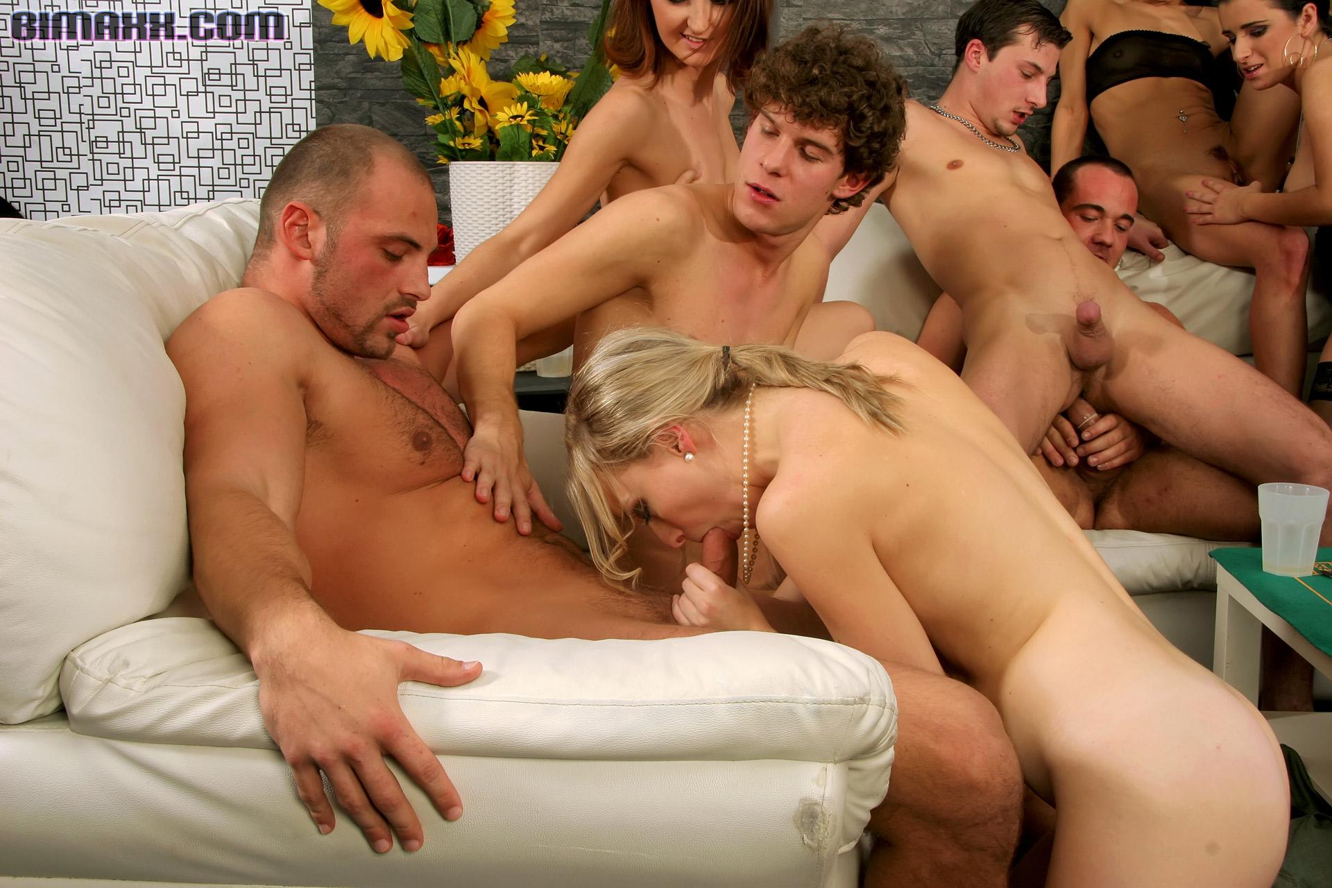 Русские бисексуалы на природе