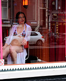 Cute amsterdam hookers sucking and fucking their clients