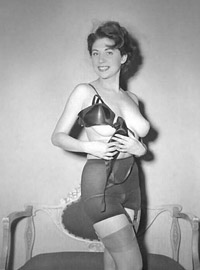Pretty daring babes wearing sexy outfits in the fifties