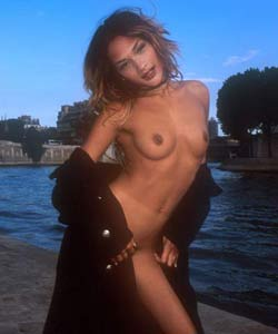 Ally Mac Tyana naked in Paris.