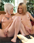 2 perfect teens (Jessie and Milky) soft lesbos together...