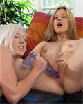 2 perfect teens (Jessie & Milky) Xtrem lesbos with fist... (part2)
