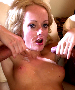 Melissa Lauren, when she was beginner, in her very first dp!