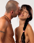 Asian hottie having sexual fun with Mike Angelo (bj, gap-hole...)