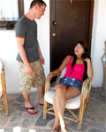 Sharon Lee, busty asian beauty fucked outdoor by Rico Simmons!