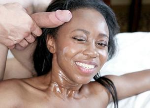 :: Teamskeet.com presents Miya Lushes in Busty Black Miya ::