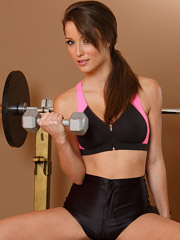 Malena Morgan - Pumping Iron