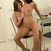Enjoy sensual young teens stripping off and making love