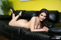 Valentina Nappi has a Perfect Round Ass as She Spreads it to Masturbate
