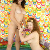 Two innocent eighteen year old girls loving it really dirty