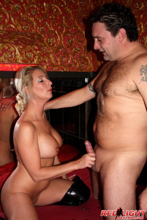 Curvy milf hooker helps a tourist to release his cum load