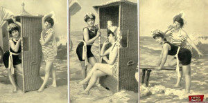 Several original shots from the 1920 at the local beach