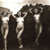 Naked vintage retro girl hot pictures from the twenties