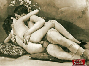 Some horny and very real vintage hardcore porn pictures