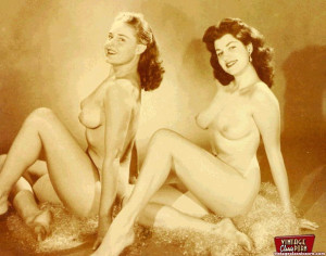 Hot vintage horny twosomes and threesomes in the fifties