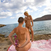 Eliska and Angell soft lesbian on a greek island....