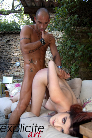 Mademoiselle Lilith, new debutante, fucked by Mike Angelo!
