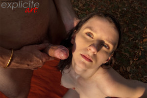 Skinny Pauline Cooper fucked by Michael outdoor…