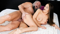 21sextreme presents Grandpa's Appetite starring Albert, Dominica Fox.