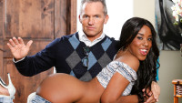 Devilsfilm presents My New White Stepdaddy #16 starring Marcus London, Ashley Pink.