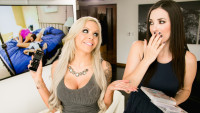 Girlsway presents Your Dirty Daughter: Part One starring Nina Elle, Jelena Jensen.