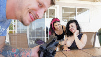 Burningangel presents Luna Lavey POV starring Joanna Angel, Mr.Pete, Small Hands, Luna Lavey.