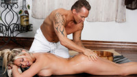 Nurumassage presents Met Over The Pond starring Marcus London, Lexi Lowe.