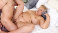 21sextreme presents Thick Granny Loving starring Astrid, Rob.