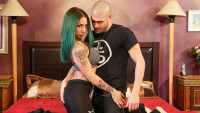 Burningangel presents Veronica Rose Yoga Pants starring Veronica Rose, Xander Corvus.