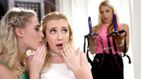 Girlsway presents We DP'd Mom starring Samantha Rone, Cadence Lux, Sarah Vandella.