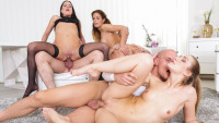 Doghousedigital presents Swingers Orgies #12 starring Alexis Crystal, Nicole Vice, Eveline Dellai.