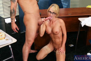 Tyann Mason & Will Powers in My First Sex Teacher – Naughty America