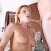 Darryl Hanah  Talented  Anilos cougar strokes a stiff cock before inserting it in her eager milf fuck box