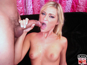 Mckenzie Miles – Hot blonde Mckenzie shows off her deepthroat
