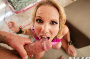 Nikki Austin – Hot MILF gets disgraced and fucked hard!