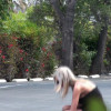 Stupid Blonde Violated In Public - Stupid Blonde Violated In Public
