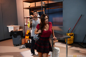 Abigail Mac Pictures in The Janitors Closet