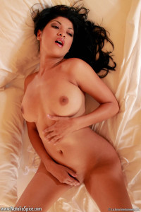 Natalia Spice slips everything off in between the sheets and reveals all